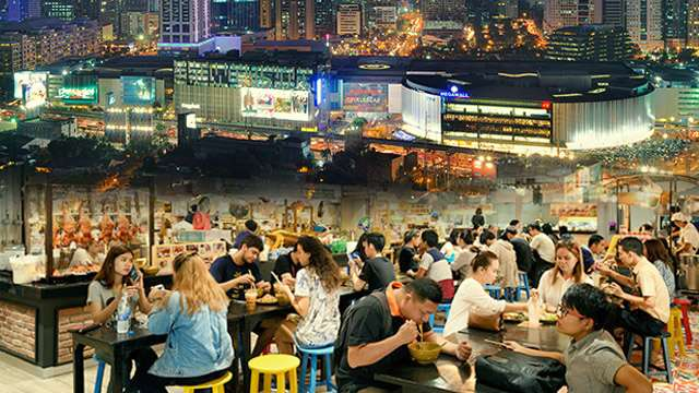 Are PH Shopping Malls Becoming Giant, Indoor Food Parks?