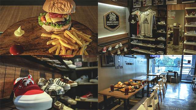 This Restaurant Is A Haven For Sneaker And Burger Aficionados