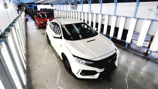 The First Batch Of Honda Civic Type R Has Just Arrived