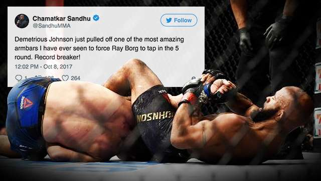 Demetrious Johnson's Mighty Armbar Is The Stuff That Fight Dreams Are Made Of