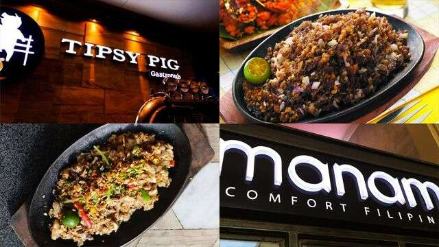 Ranking The Most Mouthwatering Sisig Dishes Around The Metro