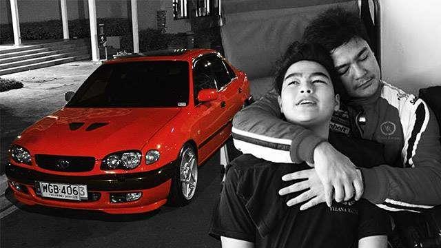 Jomari Yllana Gifts Son His Classic '90s Toyota Corolla