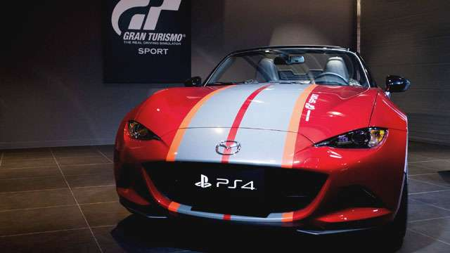 This 'GT Sport' And PlayStation Bundle Comes With A Real Mazda MX-5