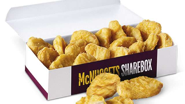 The 20-Piece Chicken McNuggets Sharebox Is Coming