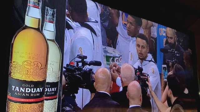 Tanduay Rum Now A Sponsor Of The Golden State Warriors
