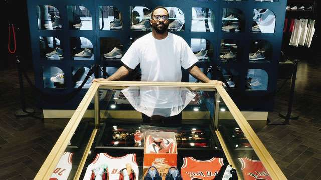 MJ's Son Marcus Has The Rarest Kicks On Display At The Trophy Room