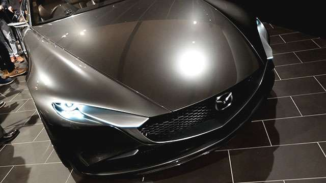 This Year's Award For Sexiest Concept Car Goes To The Mazda Vision Coupe