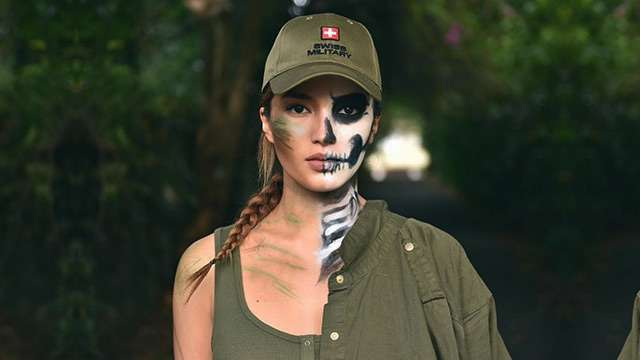 Sarah As Skeleton Soldier, Plus, The Sexiest Celebs In Costumes on Halloween