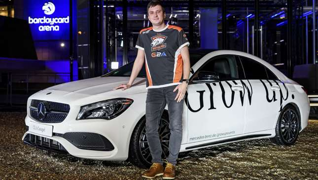 This Guy Won A Mercedes-Benz Playing 'DOTA 2'