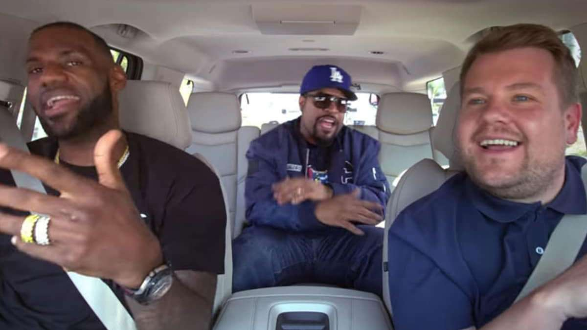 LOOK: LeBron James Joins Ice Cube For Carpool Karaoke