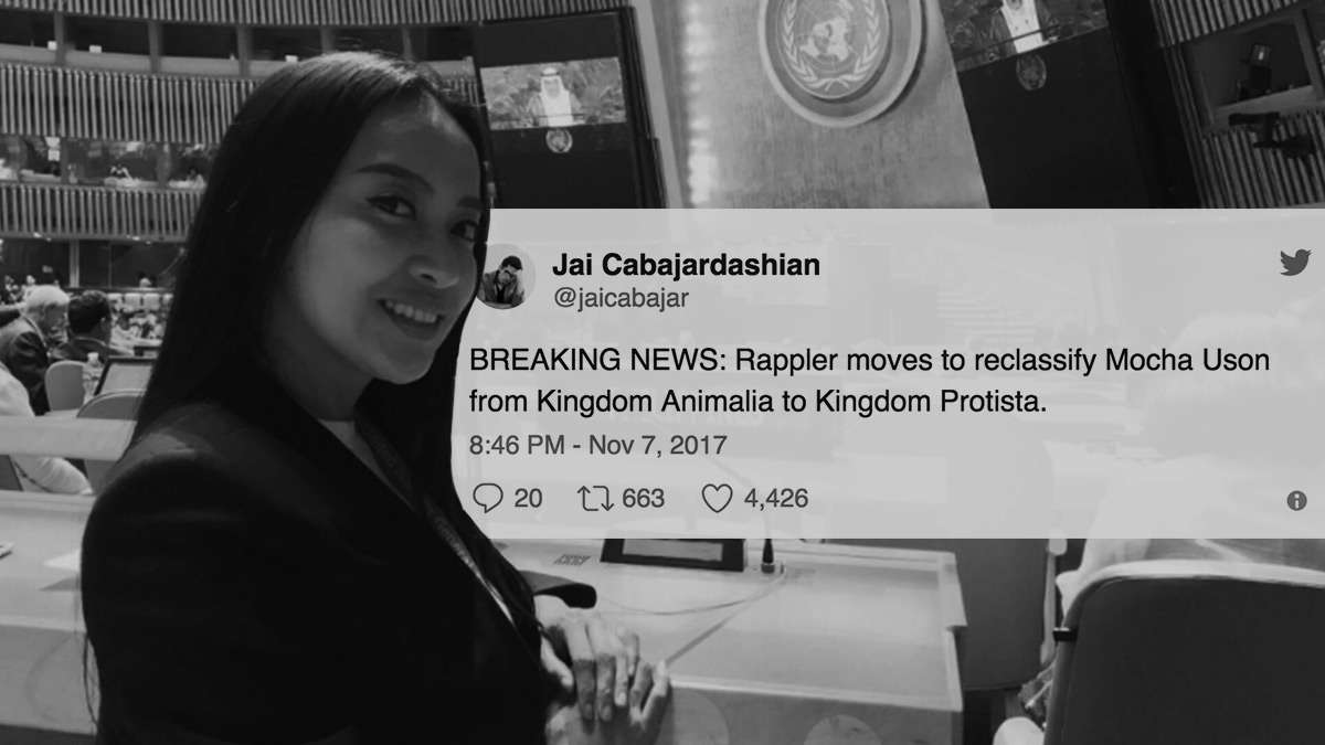 Mocha Wants Rappler Reclassified To Social Media—Netizens Aren't Having It