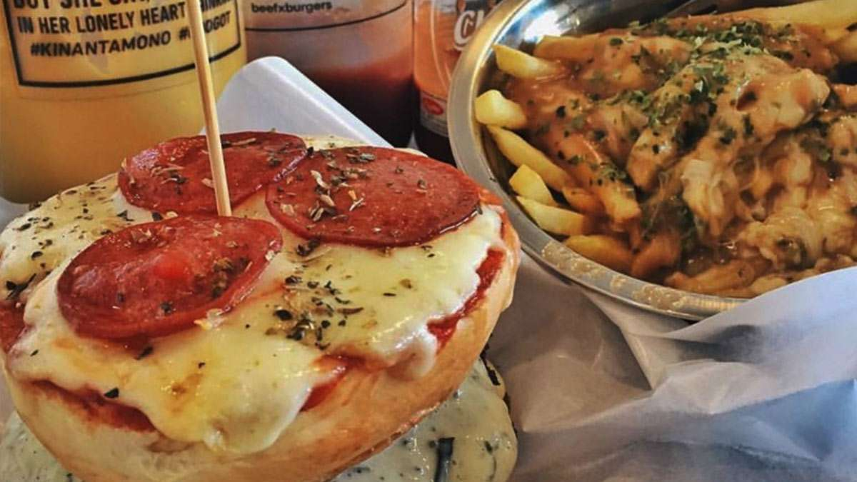 7 Of The Craziest Burgers You Should Be Devouring Right Now