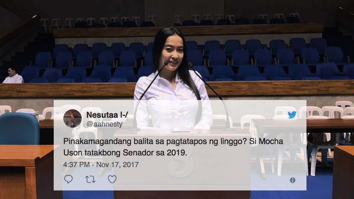 The Most Savage Reactions To Mocha Running For Senator