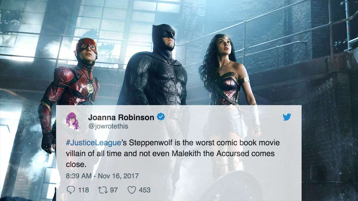 The Craziest Social Media Reactions To 'Justice League'