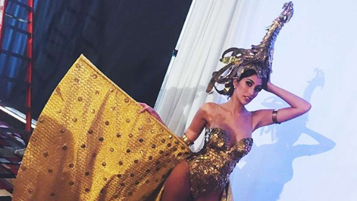 Rachel Peters Stuns In Scintillating Miss Universe Costume