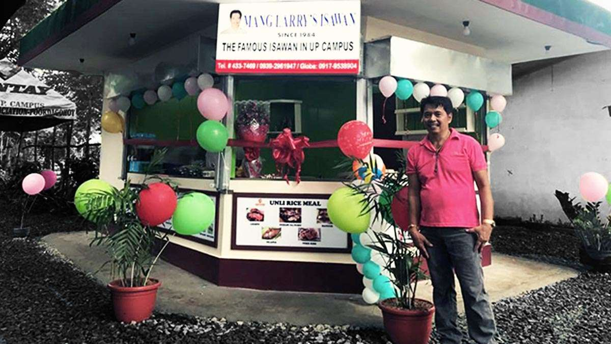 How Mang Larry's Grew From A UP Isawan To A 6-Branch BBQ Chain