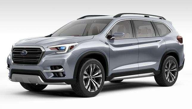 An All-New Subaru Three-Row SUV Is Just Around The Corner
