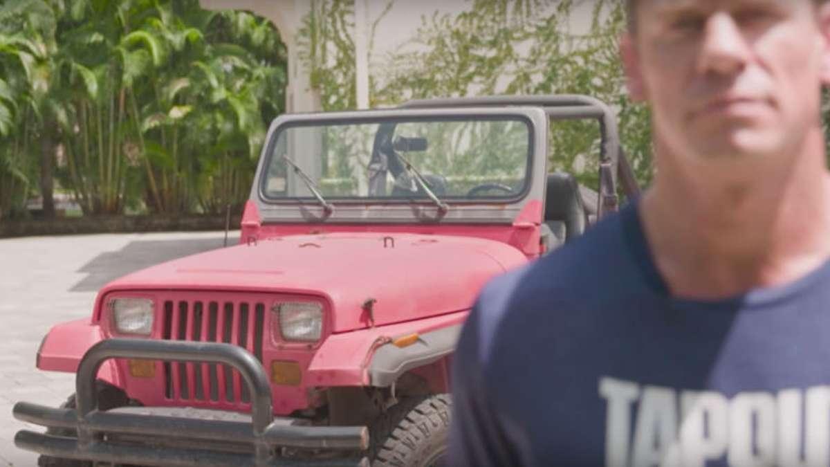 LOOK: This Was John Cena's First Car After Making It Big