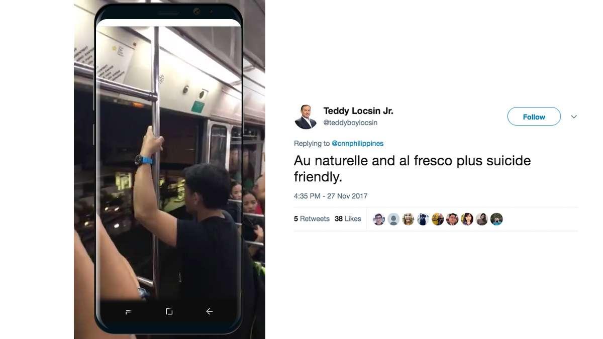 WATCH: LRT Dangerously Runs With Doors Wide Open