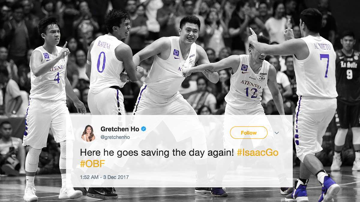 The Most Passionate Celebrity Reactions To Ateneo's Championship Win