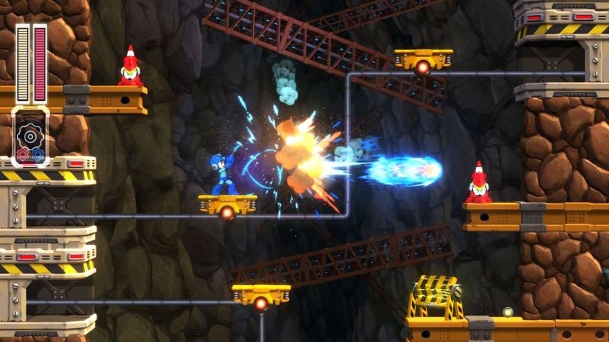 It's Bombs Away All Over Again For Mega Man In New Game