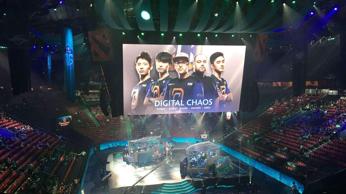 'Dota 2' Team Digital Chaos Has Disbanded