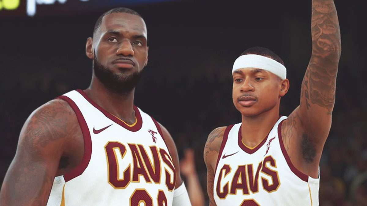 LeBron Balls Out With Isaiah Thomas In 'NBA 2K' Practice