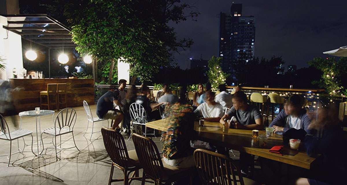 Katipunan's First Rooftop Bar Lets You Enjoy Drinks And A View
