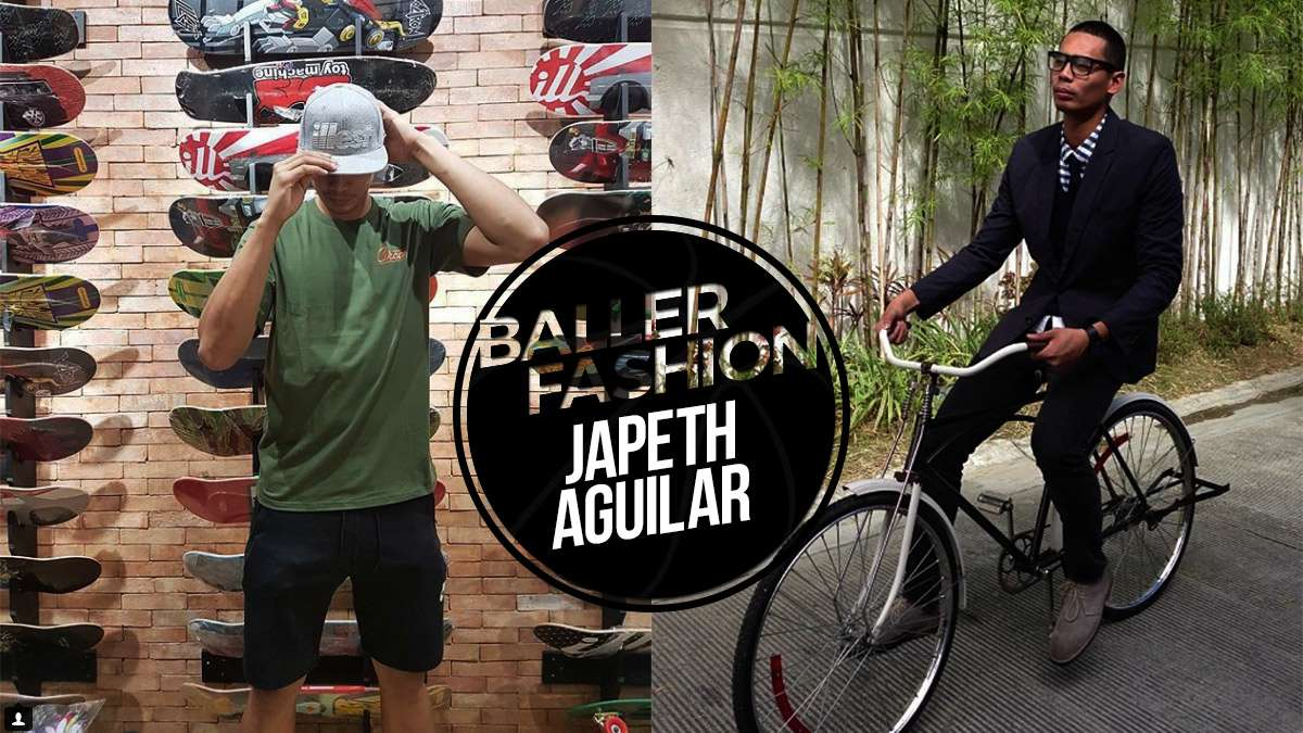 Tall Dudes Should Take Fashion Cues From Japeth Aguilar