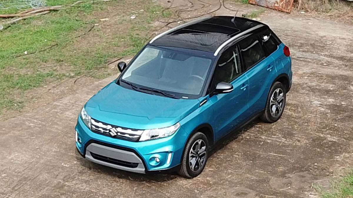 The All-New Suzuki Vitara Is One Stylish Crossover