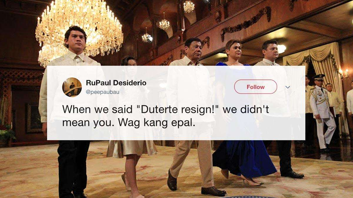 The Most Unconvinced Reactions To Paolo Duterte's Resignation