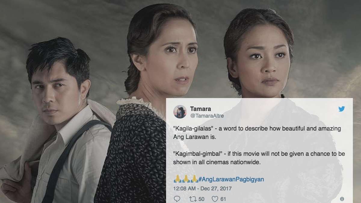 The Saddest Reactions To 'Ang Larawan' Being Pulled From Cinemas