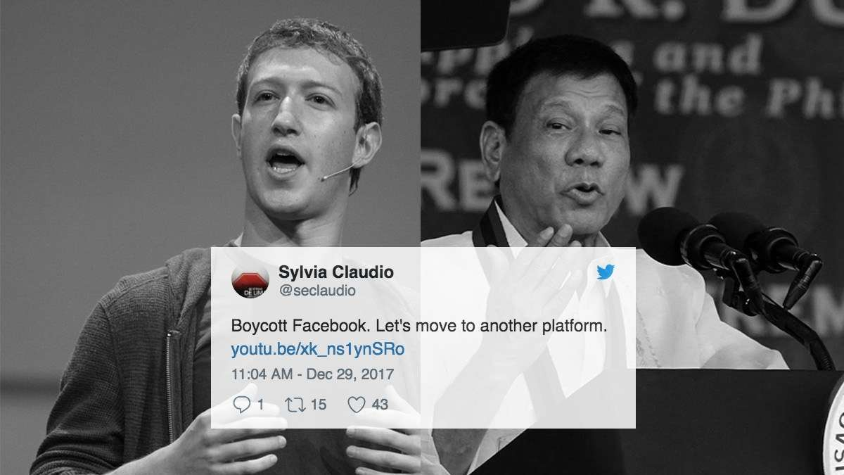 The Most Impassioned Reactions To Facebook's Fake News Deal With Duterte