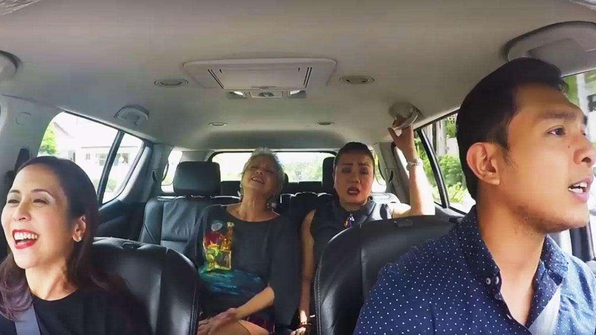WATCH: The Cast Of 'Ang Larawan' Kills It In Carpool Karaoke