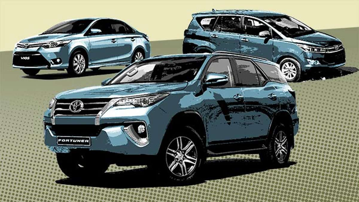 Toyota PH Releases Price List For 2018 Lineup