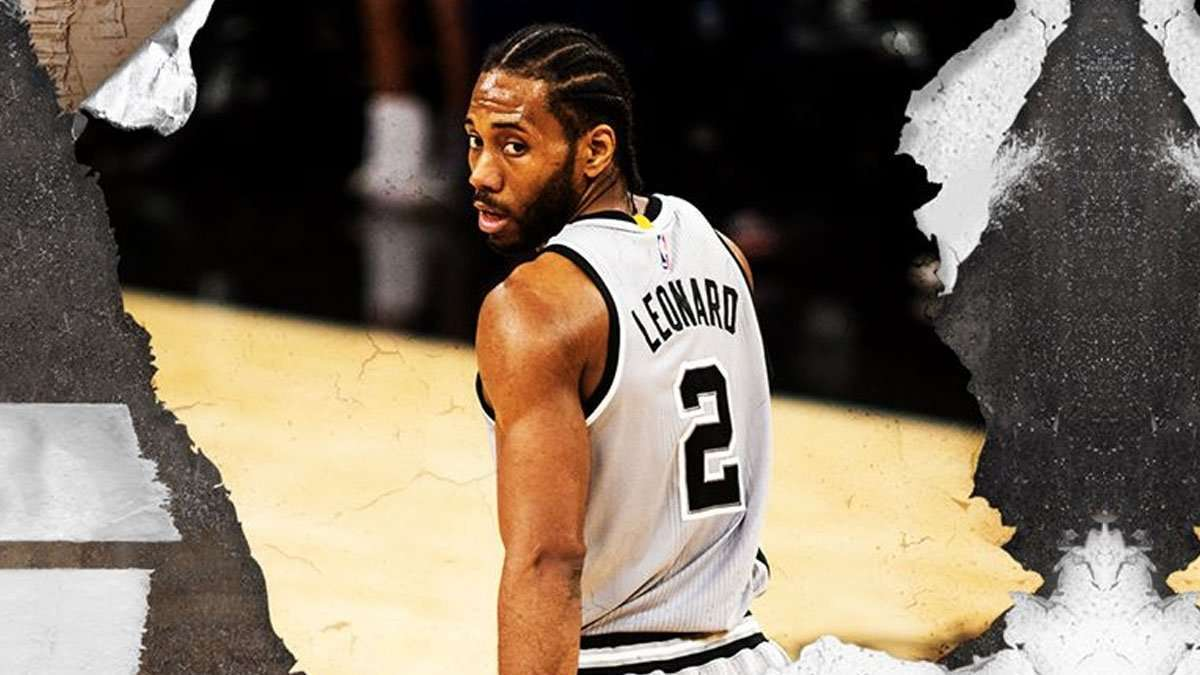 Kawhi Leonard Can't Seem To Catch A Break From Injuries