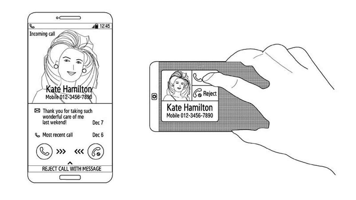 LOOK: Samsung Patent Shows A New Double-Sided Smartphone Design