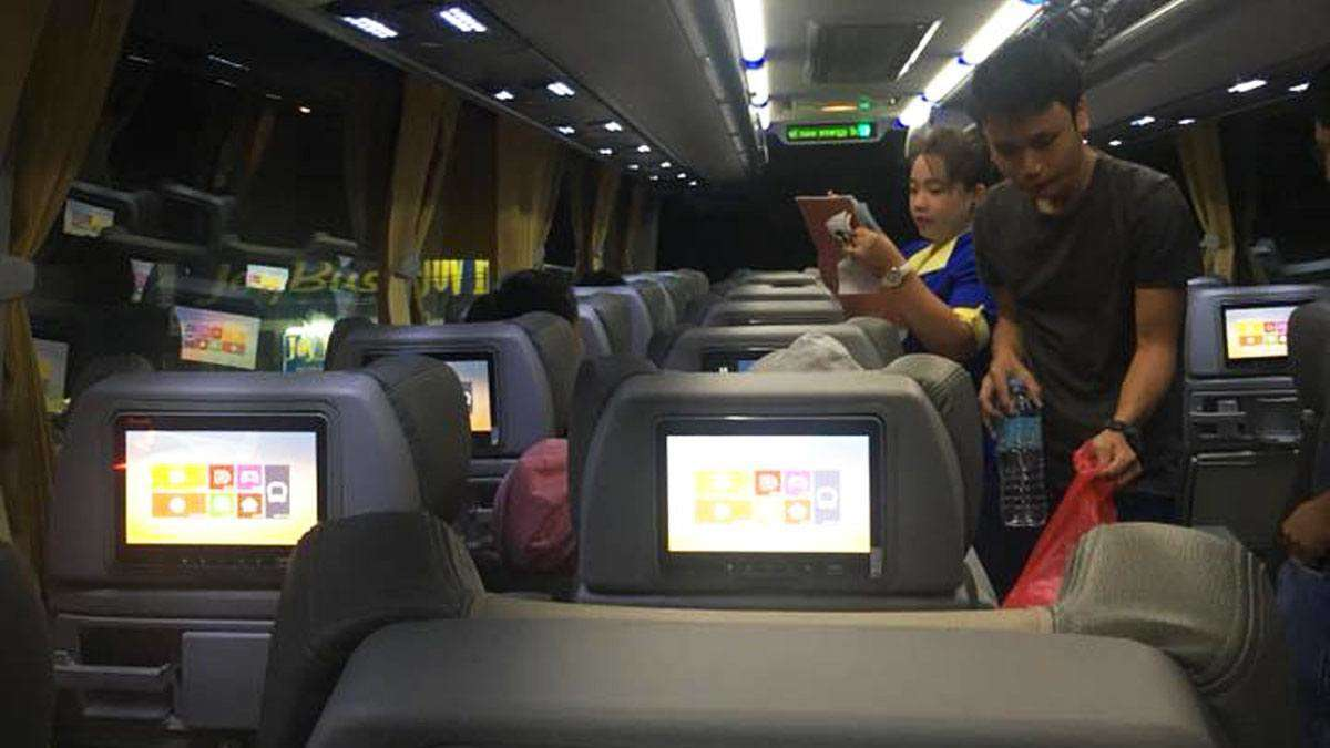 This Commuter Bus to Baguio Has Its Own Airplane-Style Entertainment System