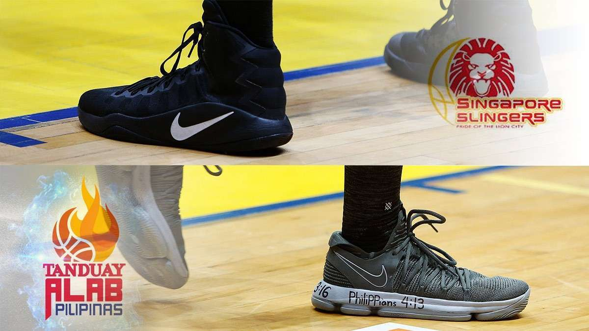 Alab Pilipinas Vs. Singapore Slingers: Whose Sneaker Game Was Stronger?