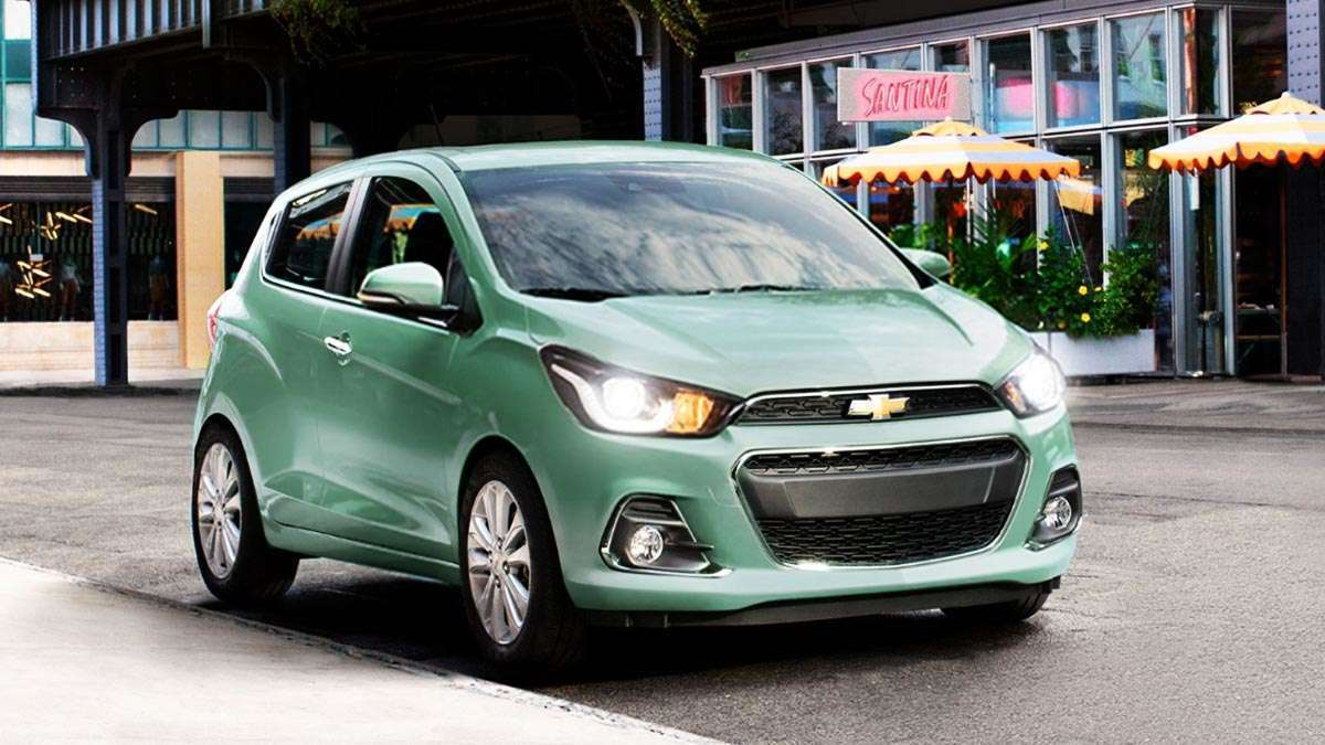The Chevrolet Spark 2018 Is A Simple Hatchback
