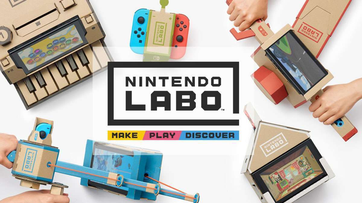Nintendo Unveils DIY Cardboard Add-On For The Switch