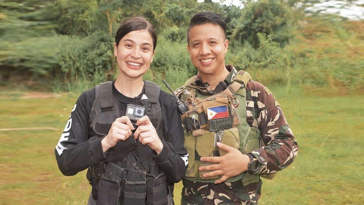 This Marawi Soldier Made A Chilling Video With A GoPro Given To Him by Anne Curtis
