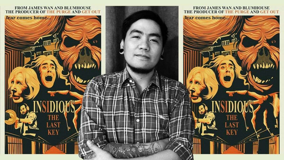 Meet The Pinoy Who Won The 'Insidious: The Last Key' Poster-Making Contest