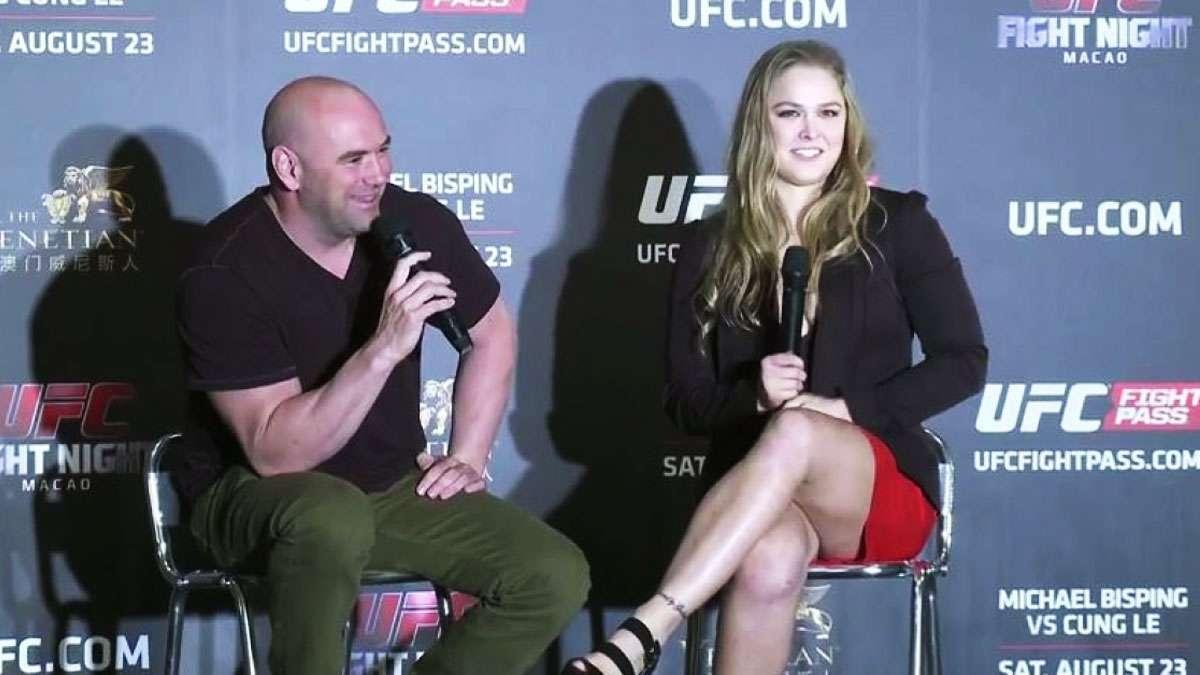 Dana White: 'Yes, Ronda Rousey Is Quitting MMA'