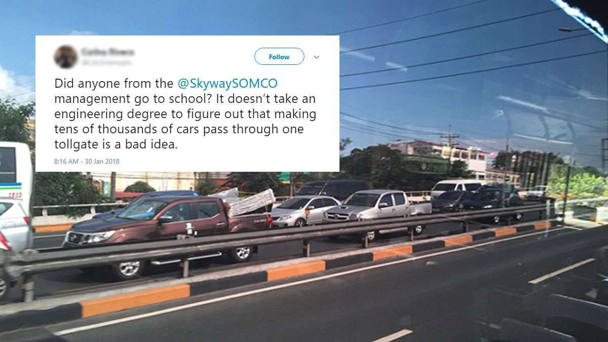 The Most Triggered Reactions To The New Skyway Toll Plaza