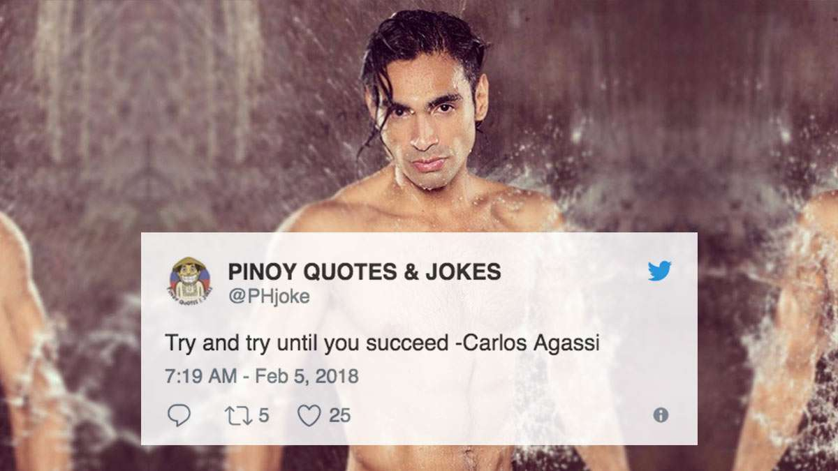 The Most Triggered Reactions To Carlos Agassi's Cyberflirting Issue