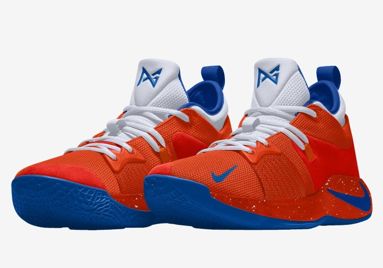 half off 5a121 9af16 This means both Oklahoma City Thunder and Los Angeles Lakers fans can  visualize a  Home  colorway for Paul George, ...