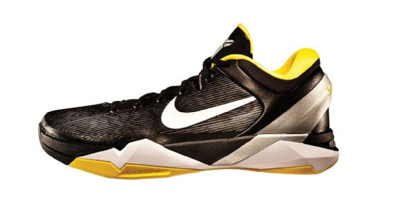 """big sale 34cff 63ff2 Bryant s seventh signature sneaker will be remembered as the one he wore to  nab his second Olympic gold, but also for being the first with """"Kobe  System,"""" ..."""