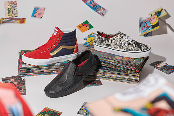 2fd0cc65bf Vans Celebrates Iconic Marvel Superheroes With Epic Collab