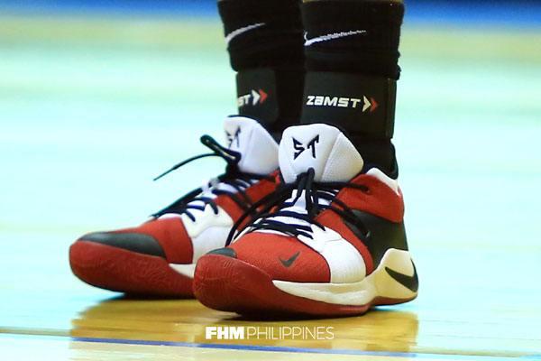 eab81faf8a9bb6 The custom Nike PG2  Ginebra  colorway and other Finals kicks